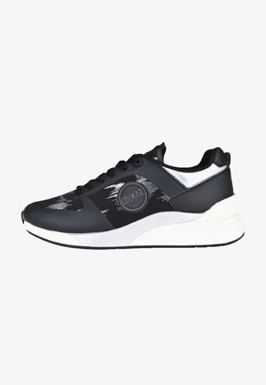 TRAVIS UNIKA - Trainers - black/silver