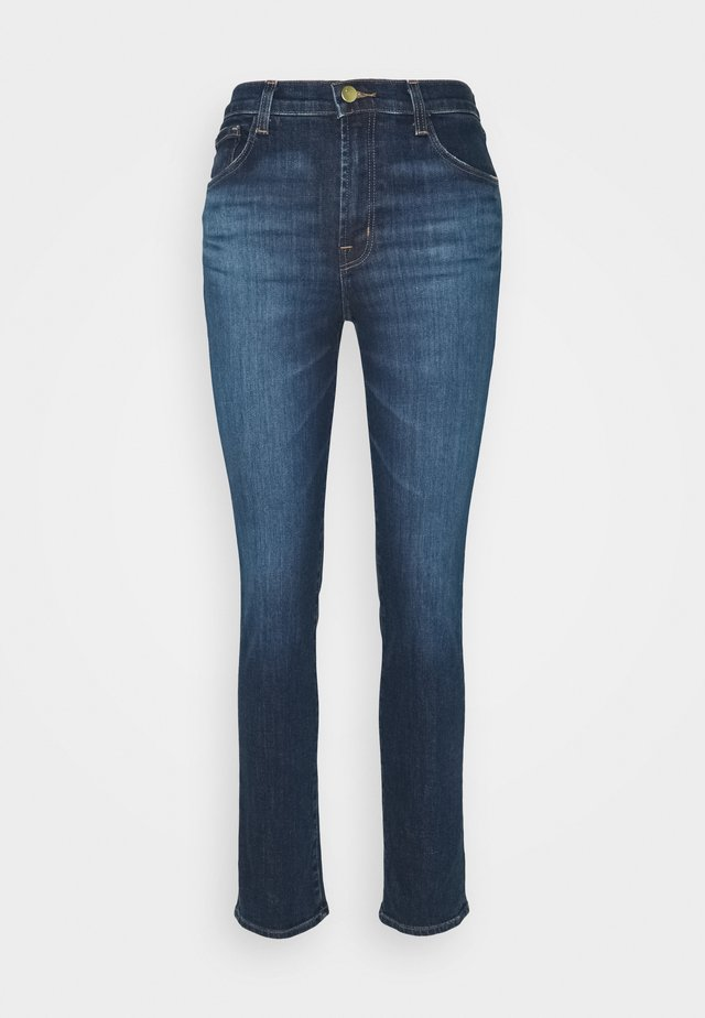 HIGH RISE CROP CIGARETTE - Jeans Straight Leg - arcade