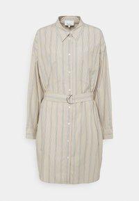 3.1 Phillip Lim - STRIPED BUTTON UP SHIRT DRESS - Shirt dress - tan - 6