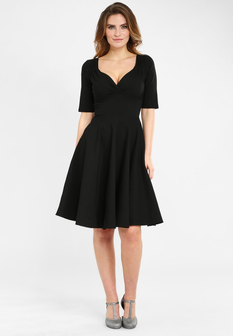 Collectif - TRIXIE - Day dress - black