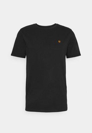 JPRBLAHARDY TEE CREW NECK - T-shirt basic - black