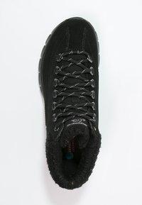 Skechers - SYNERGY-WINTER NIGHTS - Zapatillas altas - black - 1