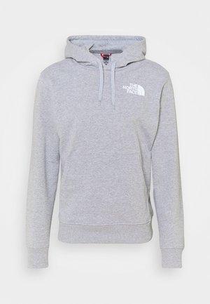 IC CLASSIC HOODIE CLIMB - Jersey con capucha - light grey heather