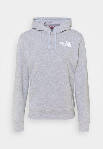IC CLASSIC HOODIE CLIMB - Hoodie - light grey heather