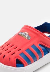 adidas Performance - WATER UNISEX - Pool slides - vivid red/team royal blue/footwear white - 5
