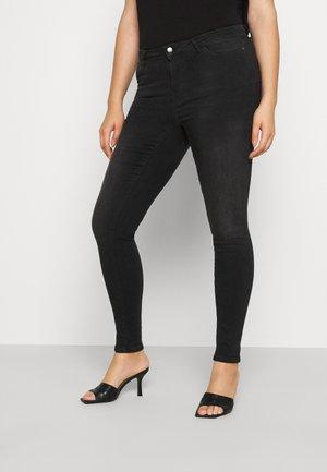 JRFOUR SHAPE - Jeans Skinny Fit - dark grey denim