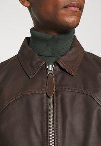 Schott - CALIFORNIA - Leather jacket - brown - 6
