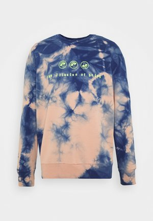 S-BIAY-X10 SWEAT-SHIRT UNISEX - Mikina - rose blue tye dyed