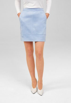 Mini skirt - sky blue