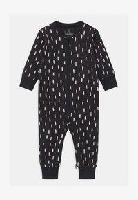 Lindex - CAT AT BACK UNISEX - Pyjama - off black - 0