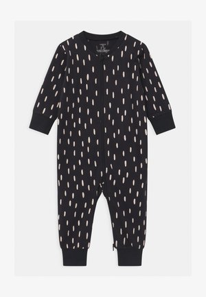 CAT AT BACK UNISEX - Pyjamas - off black