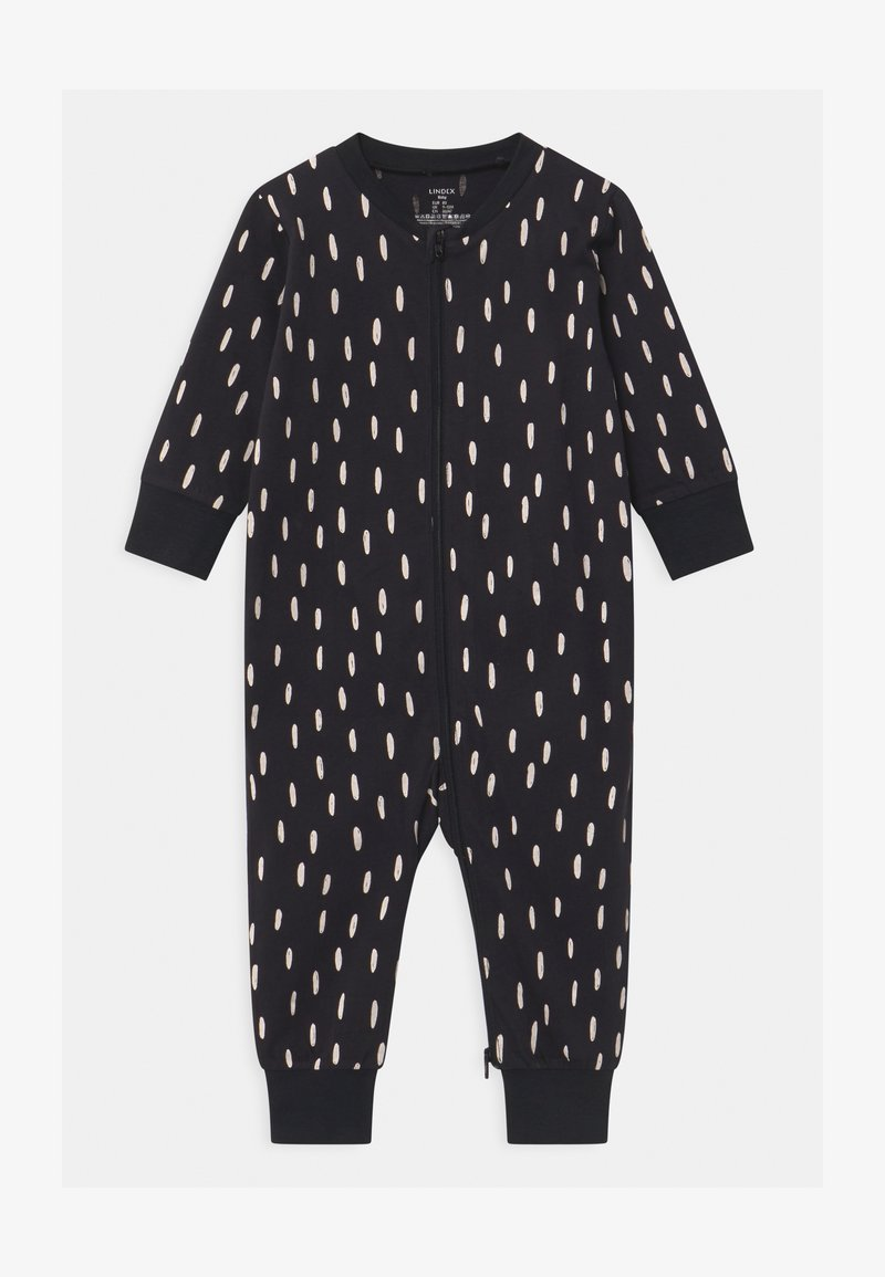 Lindex - CAT AT BACK UNISEX - Pyjama - off black