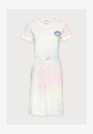 ONE PLANET DRESS - Jersey dress - pastel multi
