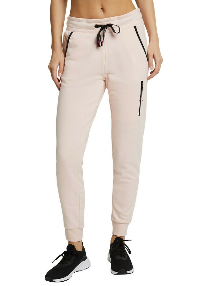 Tracksuit bottoms - peach