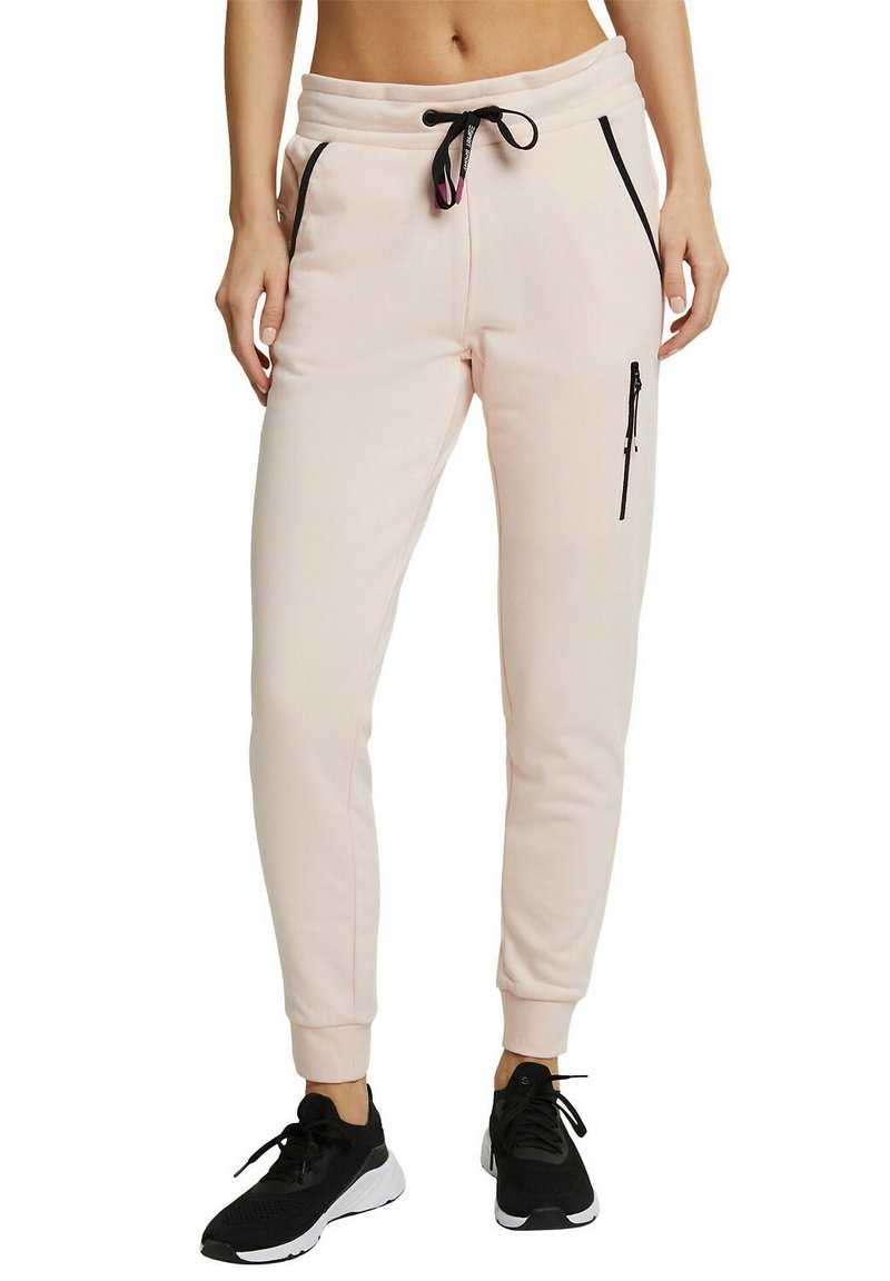 Esprit Sports - Tracksuit bottoms - peach