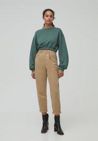 PULL&BEAR - Sweatshirt - green - 1