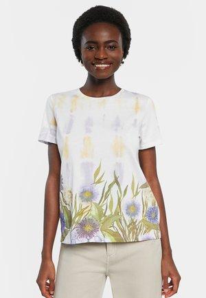 OSLO - Print T-shirt - white