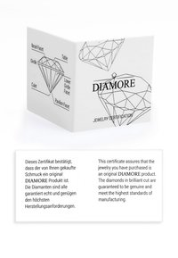 DIAMORE - Ring - silber - 4