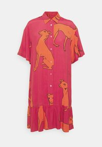 PS Paul Smith - WOMENS DRESS - Shirt dress - pink/orange - 0