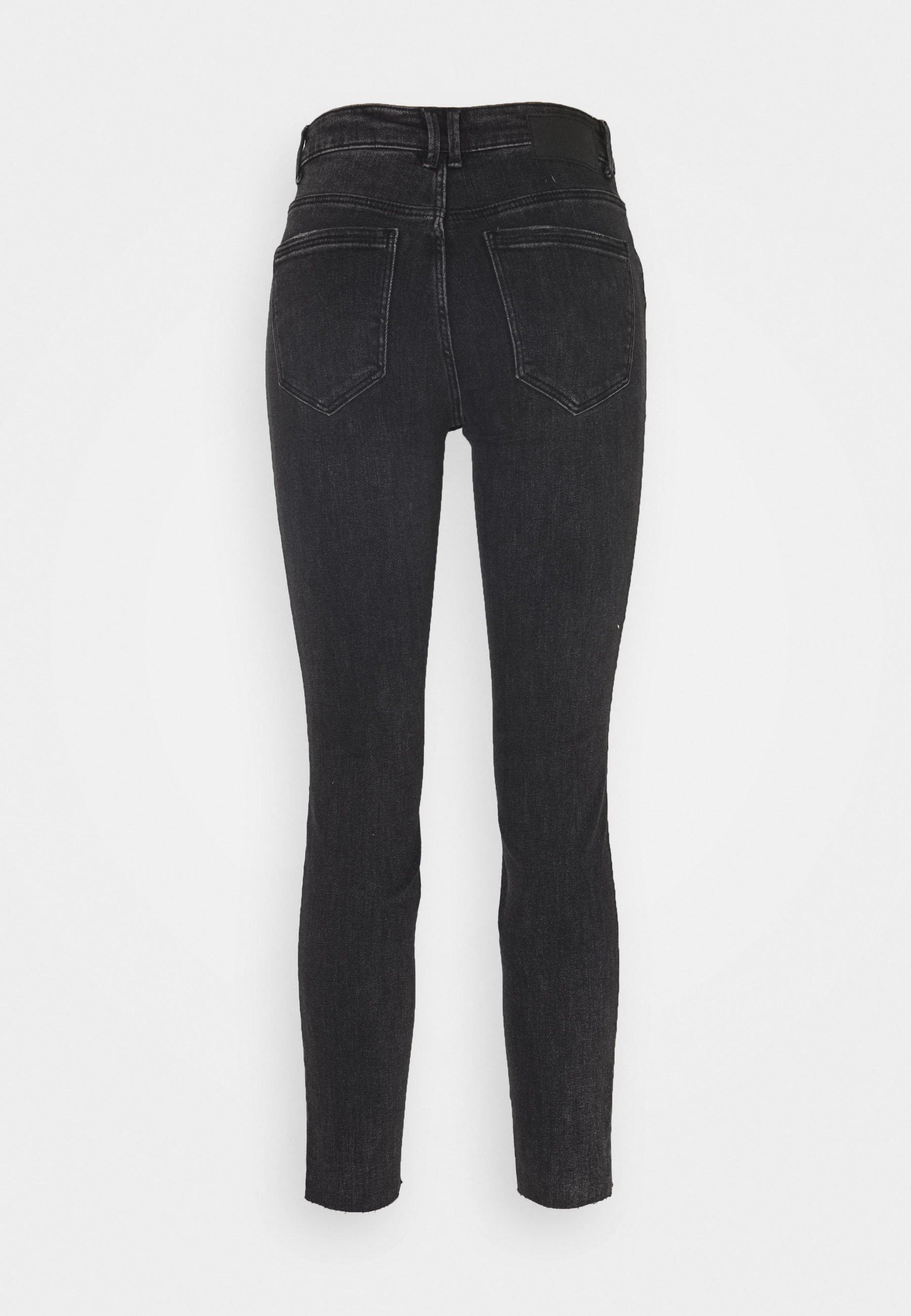 Women PCLILI  - Jeans Skinny Fit - black