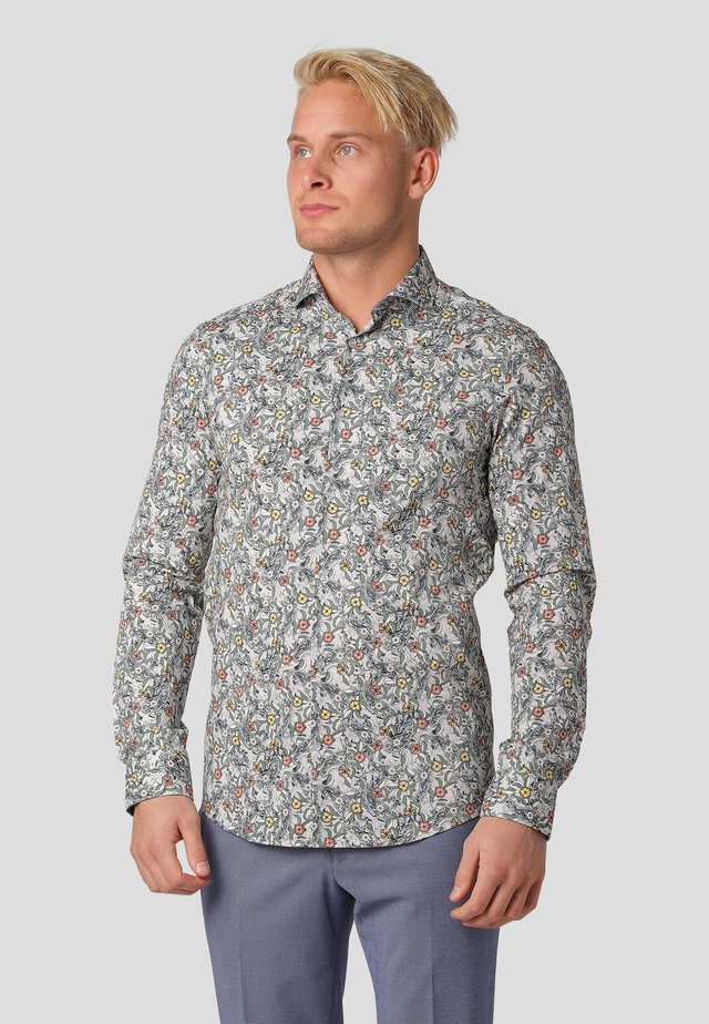 MONZI LS - Shirt - kalamata olive