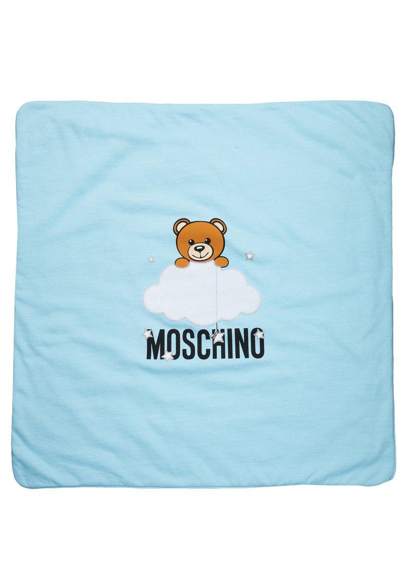 MOSCHINO - BLANKET UNISEX - Lekematte - baby sky blue melange
