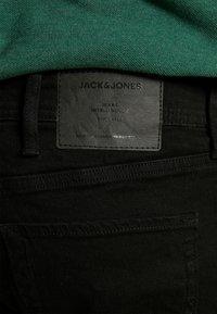 Jack & Jones - JJIGLENN JJORIGINAL - Straight leg jeans - black denim - 4