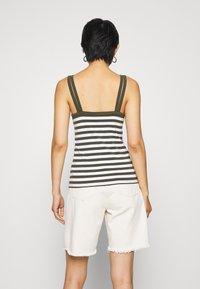 edc by Esprit - SOLID MIX - Top - khaki green - 2