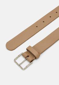 Zign - LEATHER - Belt - beige - 1
