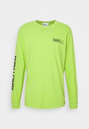 SLOANE TEE - Long sleeved top - chartreuse
