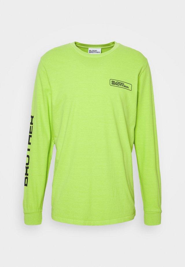SLOANE TEE - Longsleeve - chartreuse