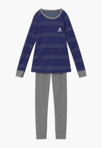 ODLO - ACTIVE WARM KIDS SET - Tílko - vivid blue/grey melange - 0