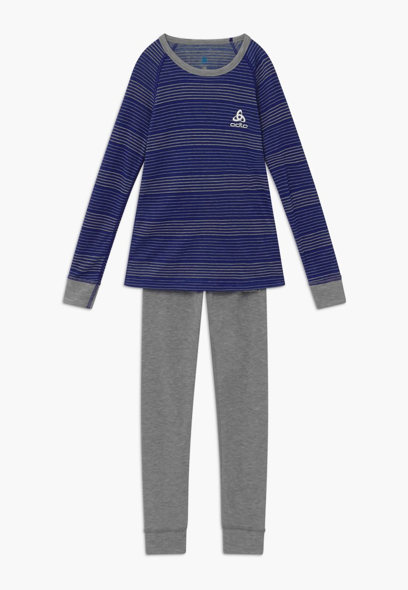 ODLO - ACTIVE WARM KIDS SET - Tílko - vivid blue/grey melange