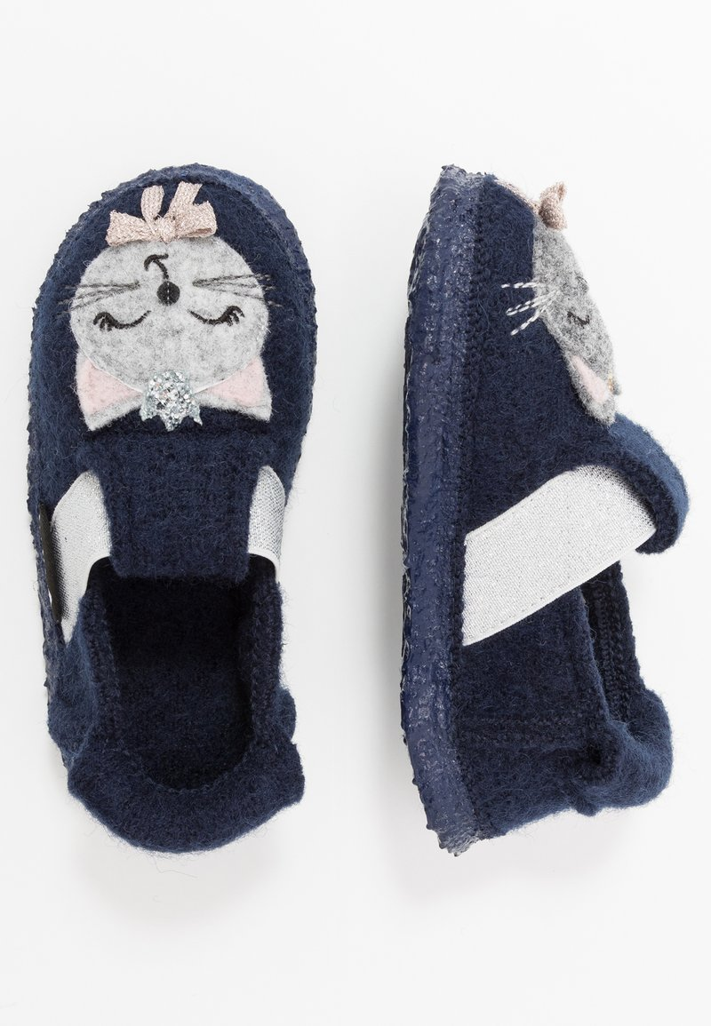 Nanga - ARISTOKITTY - Domácí obuv - dunkelblau