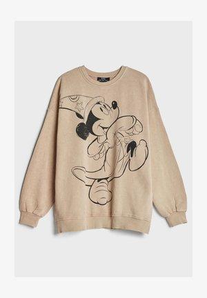 MICKEY - Sweatshirt - beige