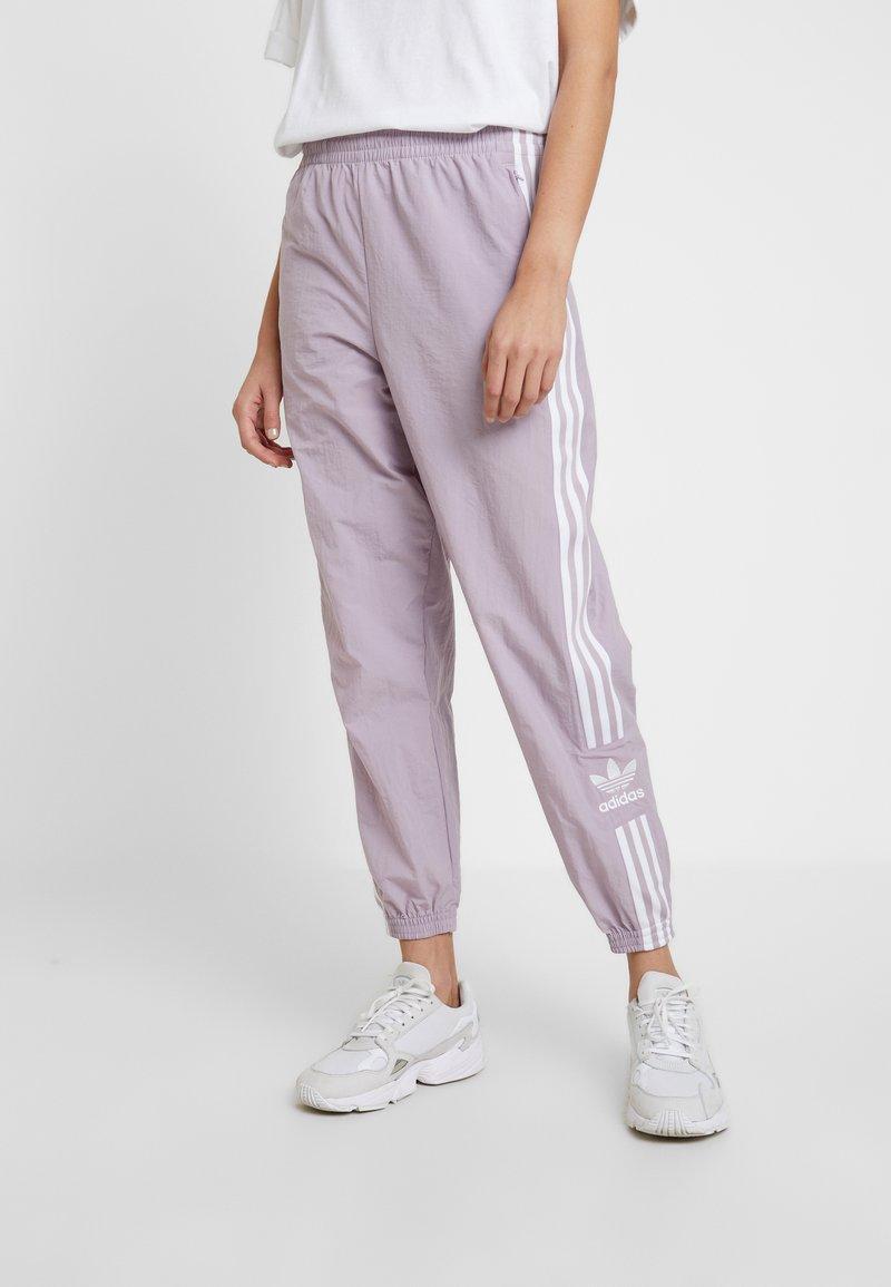 adidas Originals - LOCK UP ADICOLOR NYLON TRACK PANTS - Teplákové kalhoty - purple