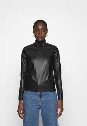 TURTLENECK - Topper langermet - black