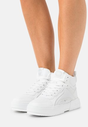 VEGAN RSE MID - Höga sneakers - white
