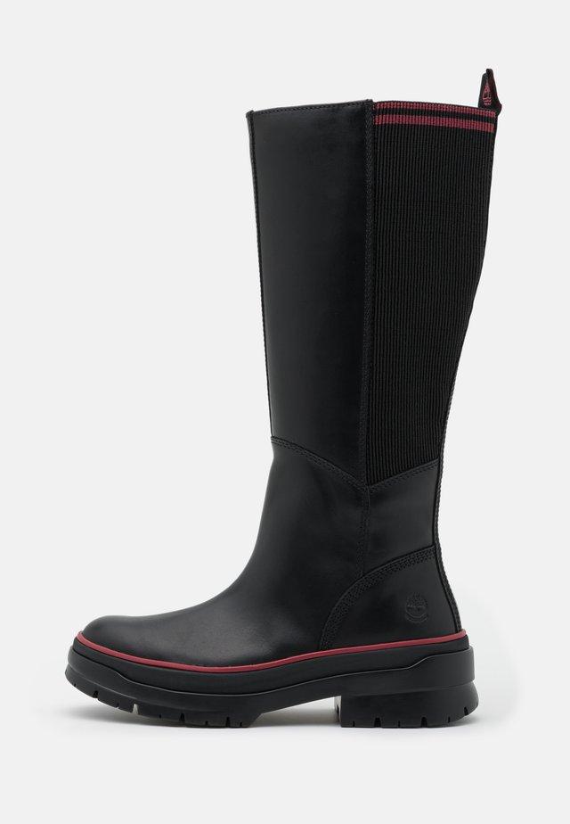 MALYNN TALL BOOT WP - Boots - black