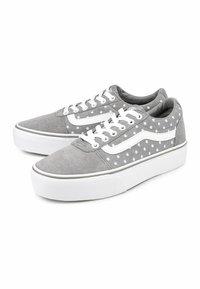 Vans - WARD - Skate shoes - grey - 1