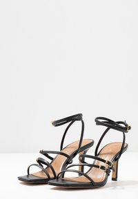 Who What Wear - EVERLY - High heeled sandals - black - 4