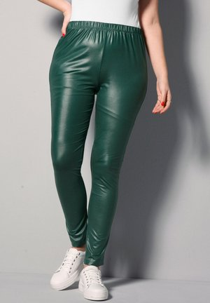 Leggings - Trousers - dunkelgrün