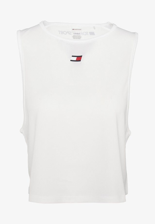 PERFORMANCE TANK  - T-shirt de sport - white
