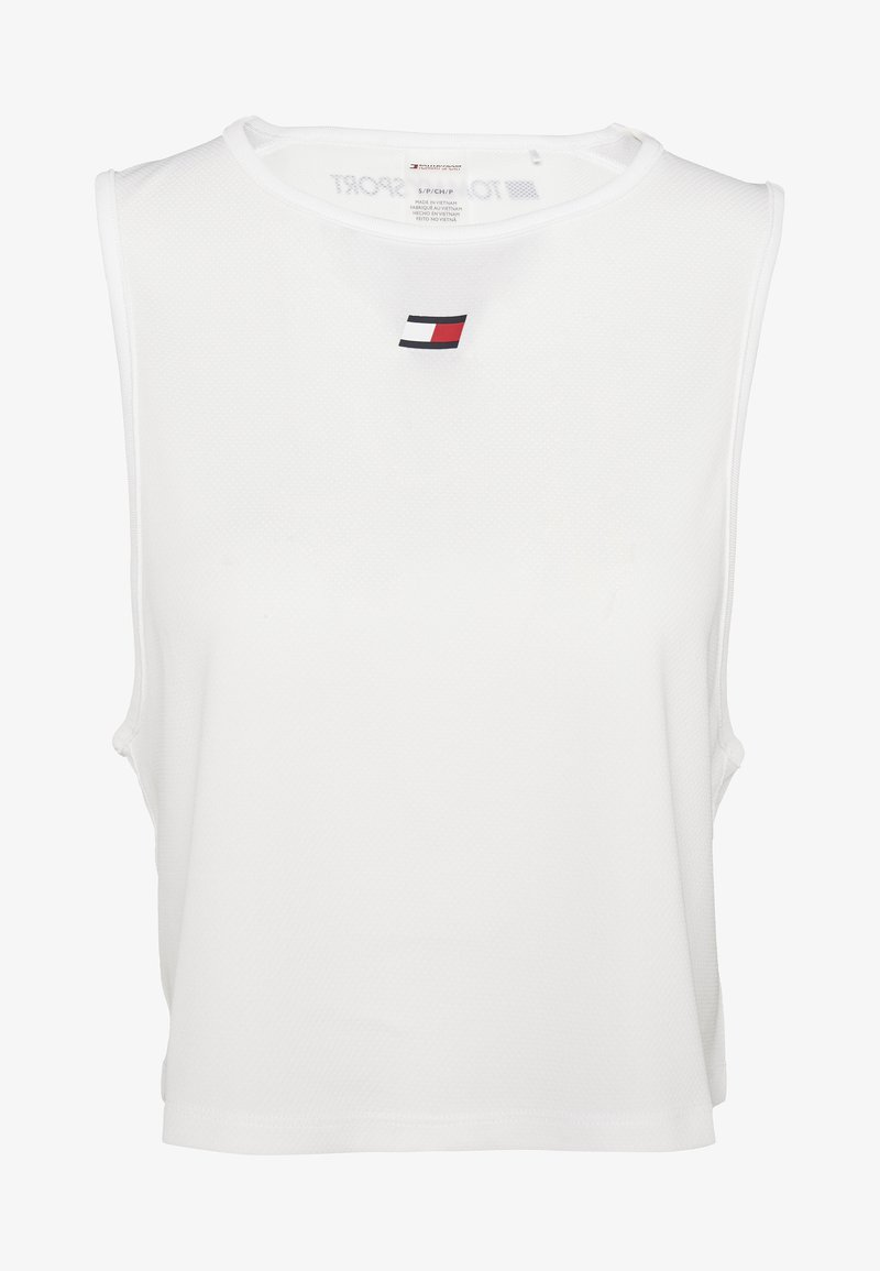 Tommy Hilfiger - PERFORMANCE TANK  - Funktionsshirt - white