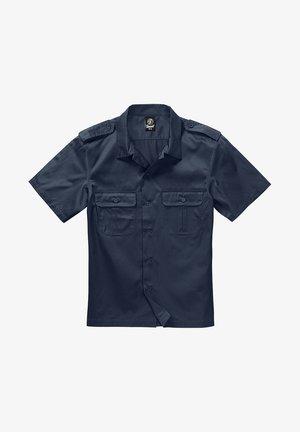 HERREN US HEMD 1/2 - Shirt - navy