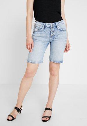 HOSE KURZ - Denim shorts - blue denim