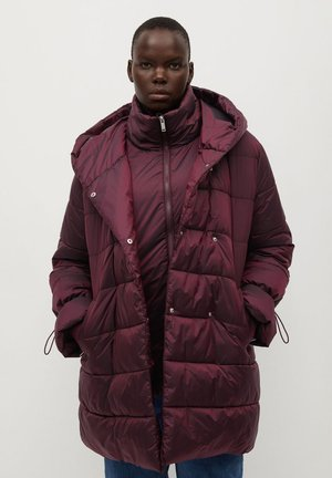 SOHO7 - Winter coat - granatrot