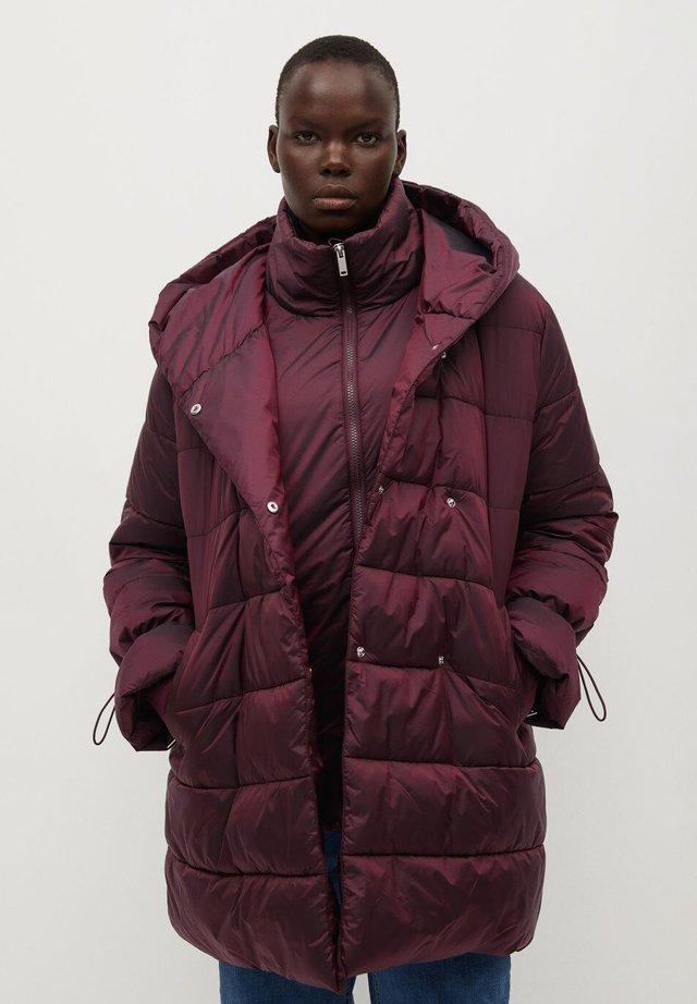SOHO7 - Winter coat - granatrot