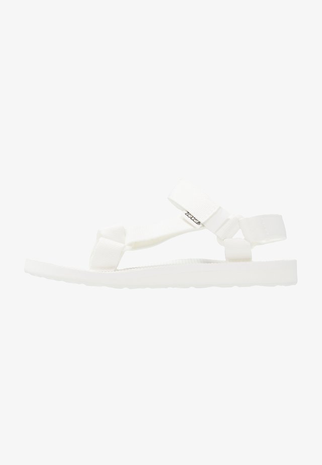 ORIGINAL UNIVERSAL WOMENS - Walking sandals - bight white