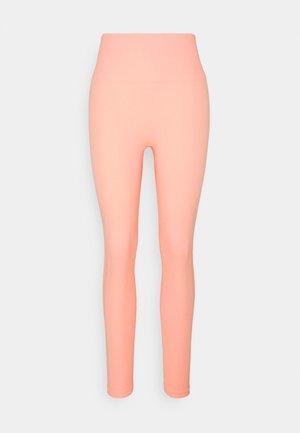HIGH WAISTED SEAMLESS  - Leggings - mimosa